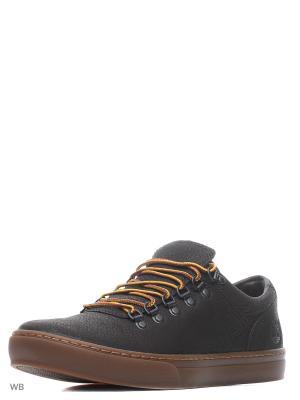 Ботинки TIMBERLAND. Цвет: темно-коричневый