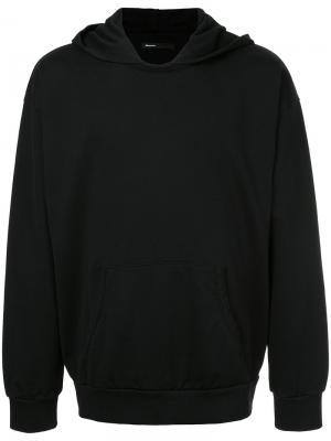 Толстовка с капюшоном 08Sircus. Цвет: чёрный