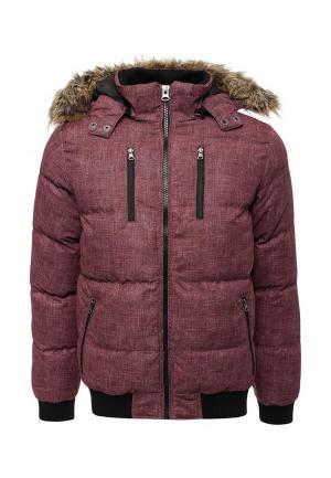 Куртка утепленная Urban Classics. Цвет: бордовый