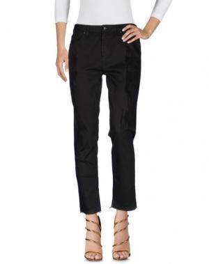 Джинсовые брюки TOY G.. Цвет: темно-коричневый