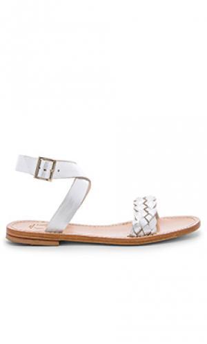 Solaro sandal Capri Positano. Цвет: metallic silver