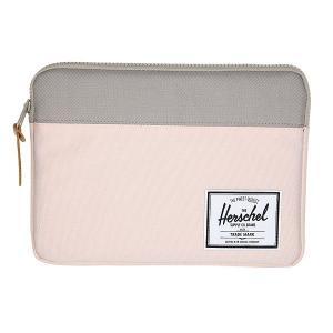 Чехол для iPad  Anchor Sleeve For Air Cloud Pink/Ash Herschel. Цвет: серый,розовый