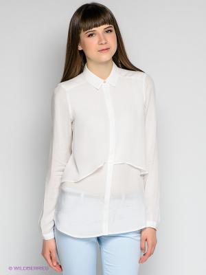Блузка MAGDALENA Salsa. Цвет: белый