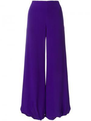 Широкие брюки Emilio Pucci. Цвет: розовый и фиолетовый
