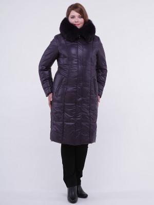 Пальто OSTRICH. Цвет: темно-фиолетовый