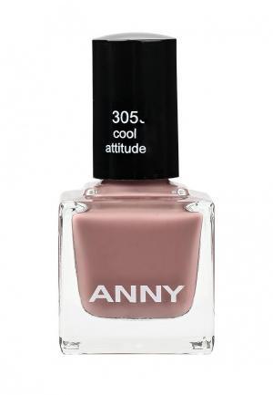 Лак для ногтей Anny. Цвет: розовый