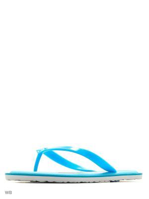 Шлепанцы LAMALIBOO. Цвет: голубой
