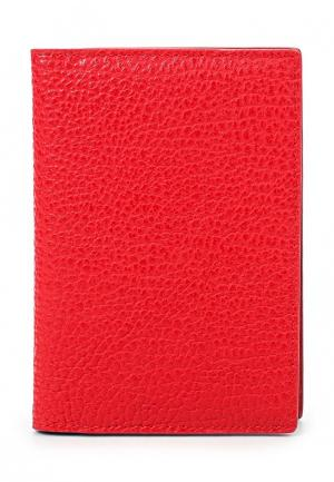 Обложка для документов Vitacci. Цвет: красный