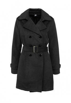 Пальто Catwalk88. Цвет: серый