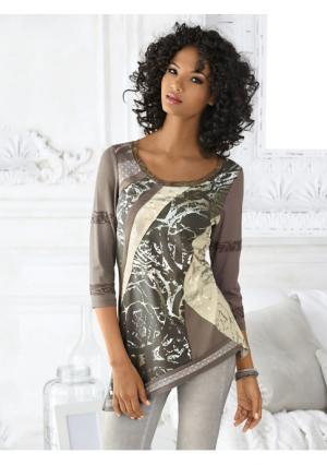 Кофточка Linea Tesini. Цвет: серо-коричневый