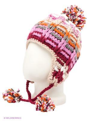 Ушанка Maxval. Цвет: розовый, бежевый, белый, бордовый, оранжевый