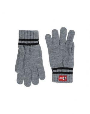 Перчатки NAPAPIJRI. Цвет: серый