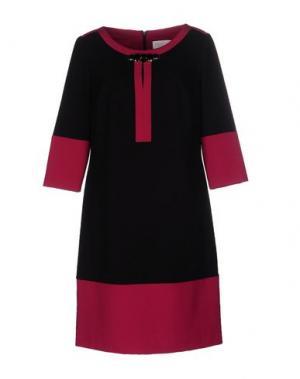 Короткое платье CALALUNA. Цвет: черный