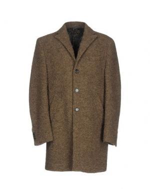 Пальто BARBATI. Цвет: хаки