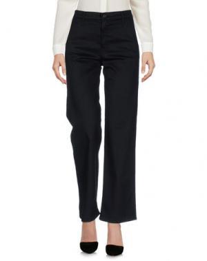 Повседневные брюки MOTHER. Цвет: черный
