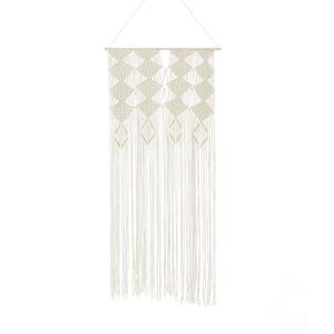 Штора плетения макраме, 100% хлопок, ADONI La Redoute Interieurs. Цвет: экрю