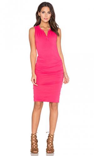 Платье himira Velvet by Graham & Spencer. Цвет: розовый