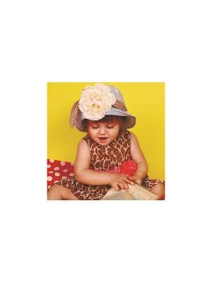 Шляпа DEMBOHOUSE. Цвет: бежевый