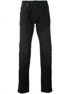 Зауженные джинсы Edwin. Цвет: чёрный