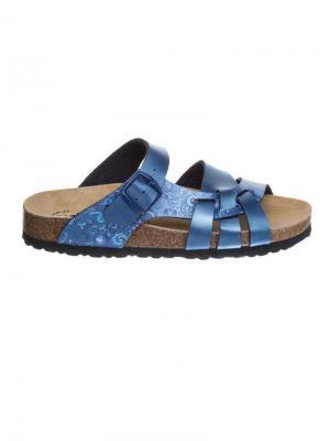 Пантолеты Lico. Цвет: голубой