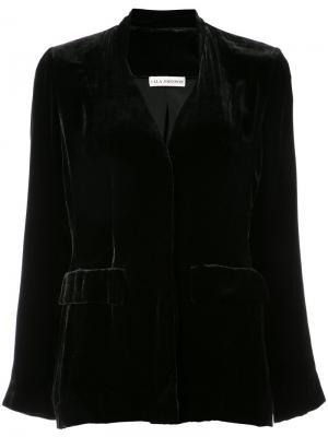 Открытый пиджак Ulla Johnson. Цвет: чёрный