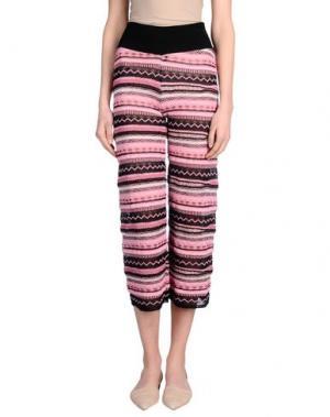 Повседневные брюки LANEUS. Цвет: светло-розовый