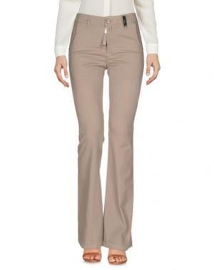 Повседневные брюки HIGH. Цвет: песочный