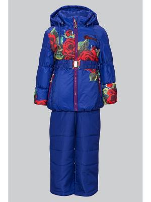 Комплект одежды Bilemi. Цвет: синий
