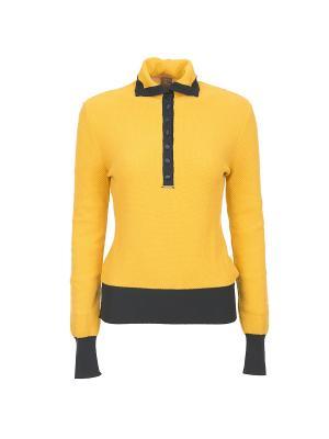Поло Tricot Chic. Цвет: желтый