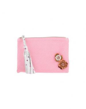 Сумка на руку LISA C BIJOUX. Цвет: розовый