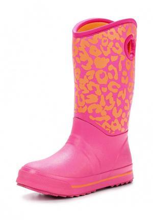 Сапоги Skechers. Цвет: розовый