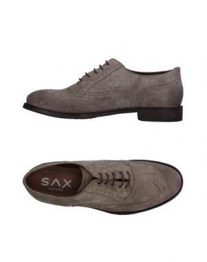Обувь на шнурках SAX. Цвет: серый