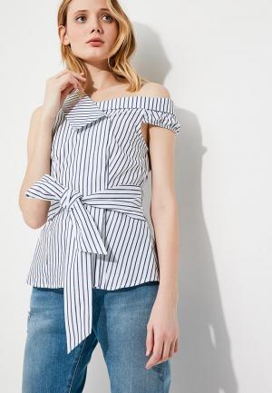 Блуза Pinko. Цвет: белый