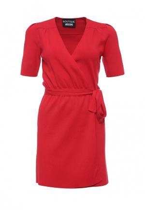 Платье Boutique Moschino. Цвет: красный