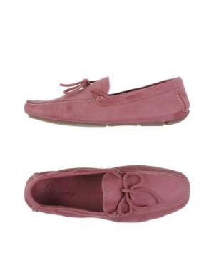 Мокасины SWAMP. Цвет: пастельно-розовый