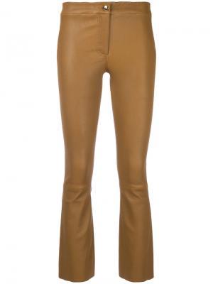 Укороченные брюки Arma. Цвет: коричневый