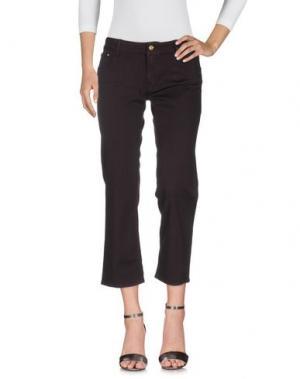 Джинсовые брюки CYCLE. Цвет: баклажанный