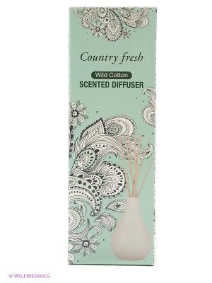 Ароматический диффузор Wild Cotton с ароматом хлопка Country Fresh. Цвет: прозрачный