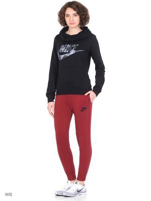 Худи W NSW FNL FLC GX2 Nike. Цвет: черный