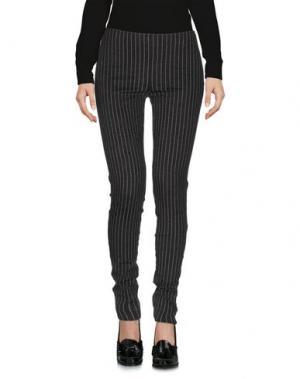 Повседневные брюки CARLA G.. Цвет: стальной серый
