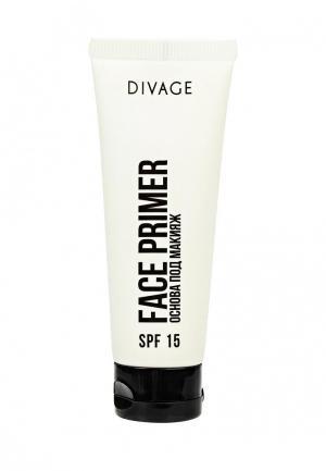 Праймер для лица Divage. Цвет: белый