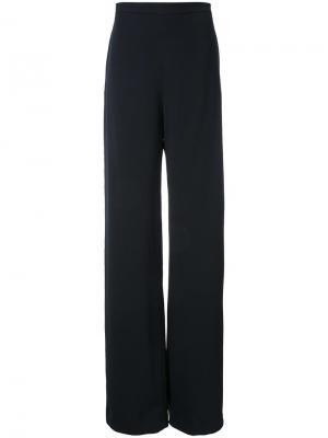 Широкие брюки Brandon Maxwell. Цвет: чёрный
