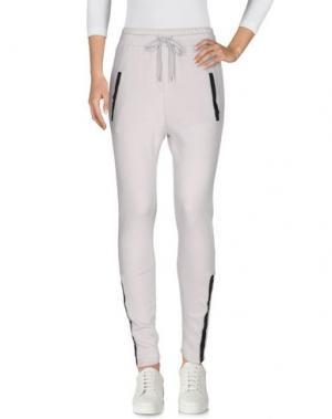 Повседневные брюки YAYA. Цвет: светло-серый
