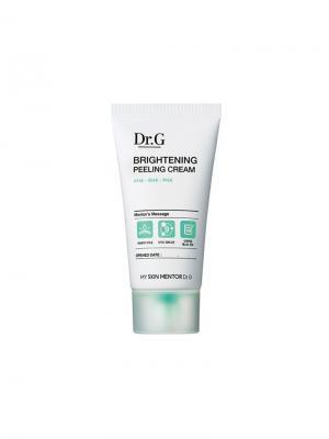 Осветляющий пилинг-крем глубокого действия Dr.G. Цвет: белый