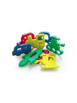 Игрушка для ванны аква Техника БОМИК. Цвет: синий, зеленый, красный