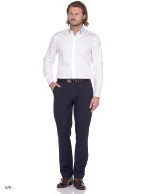 Рубашка мужская манжет под запонки WHITE CUFF. Цвет: белый
