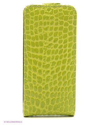 Чехол для iPhone 5/5s Dimanche. Цвет: салатовый