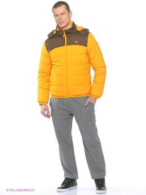 Куртка ANTA. Цвет: желтый