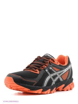 Кроссовки GEL-SONOMA 2 ASICS. Цвет: черный, оранжевый, серый