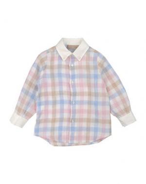 Pубашка LA STUPENDERIA. Цвет: розовый